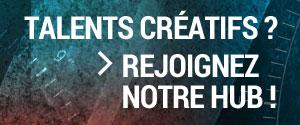 Talents créatifs, rejoignez notre hub sur neuf secondes
